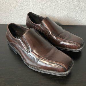 Alfani Brown Leather dress shoes